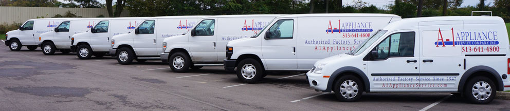 Welcome / A-1 Appliance Service and Repair in Greater Cincinnati